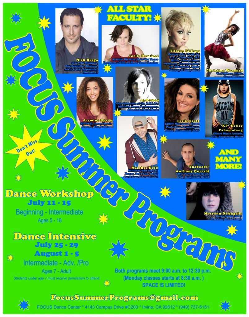 summer programs 2016 poster