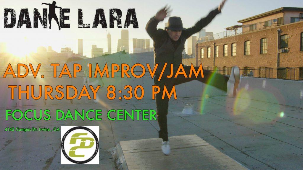 Dante Lara - Improv/Jam Classes at FOCUS Dance Center